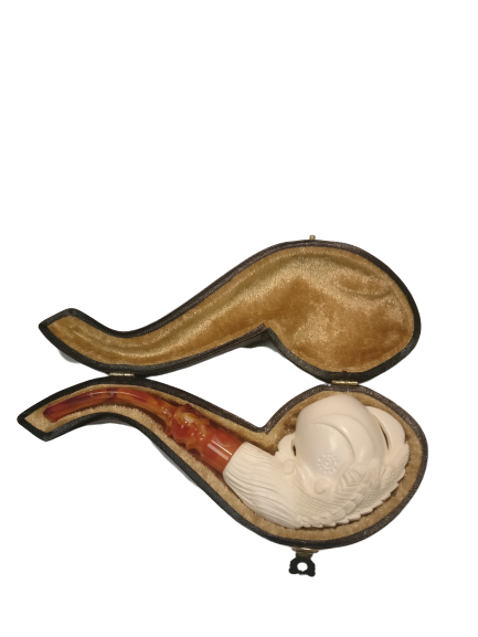 Meerschaum - Medium Claw with Case