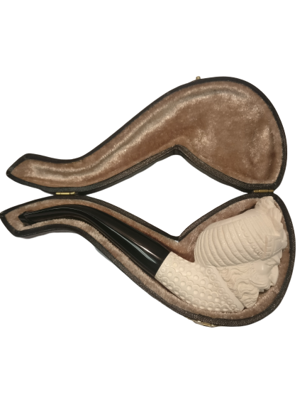 Sultan Medium Meerschaum with Case