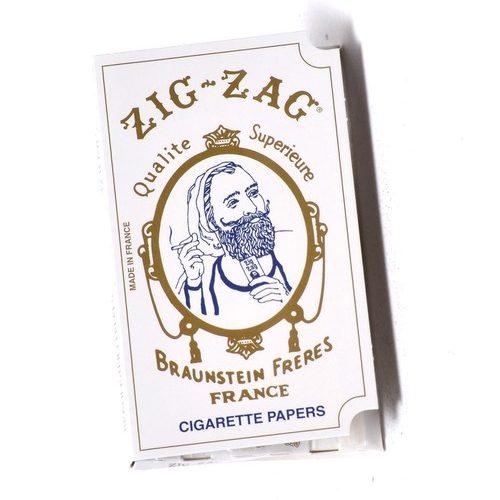 Zig-Zag White