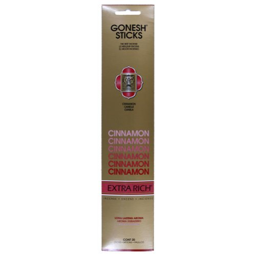 Cinnamon Incense – Gonesh – Extra Rich Sticks