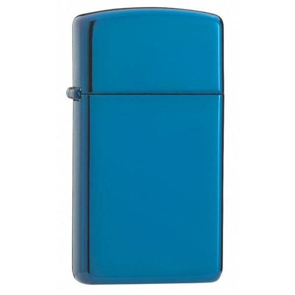 Zippo Slim High Polish Blue