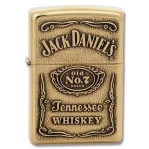 Zippo Jack Daniel's Brass Label