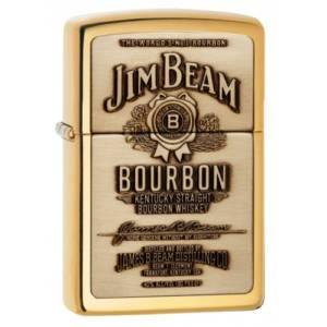 Zippo Jim Beam Brass