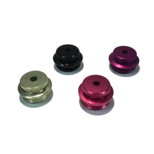 Pipe Cap – Smokeless Anodized