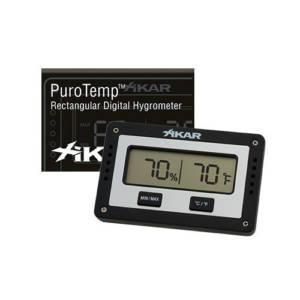 xikar rctangular Digital Hygrometer