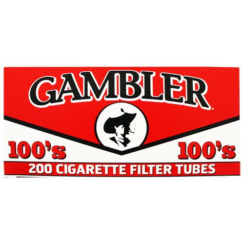 Cigarette Filter and Tubes – Gambler