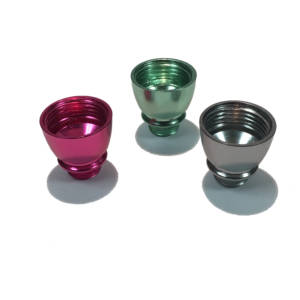Anodized Metal Bowl