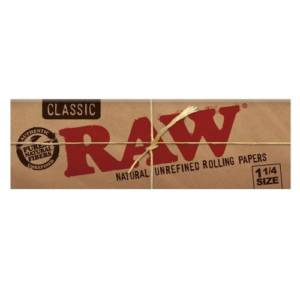RAW Natural Unbleached 1 1/4