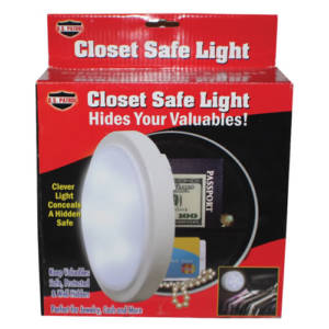 safe closet light