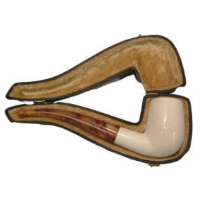 Plain Medium Meerschaum with Case