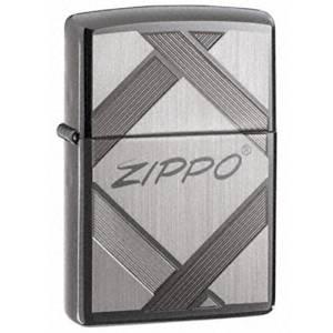 Zippo Logo Black Ice