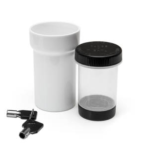 30 Dram Lockz Key Lockable High Security Jar