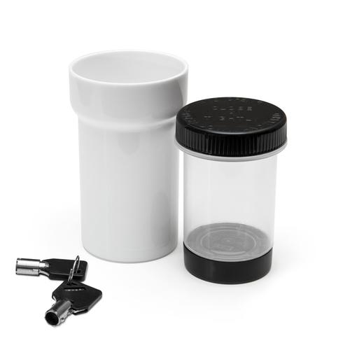 30 Dram Lockz Key Lockable High Security Jar