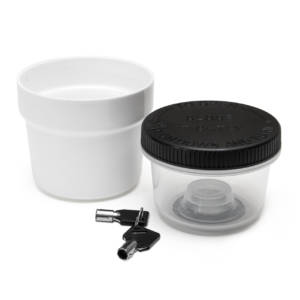 60 Dram Lockz Key Lockable High Security Jar