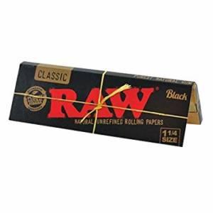 RAW Black Natural Unrefined 1 1/4