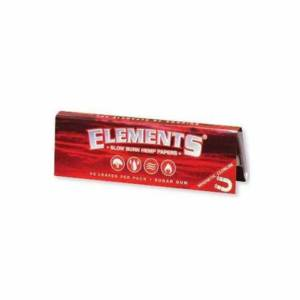 Elements Red Slow Burn Hemp 1 1/4