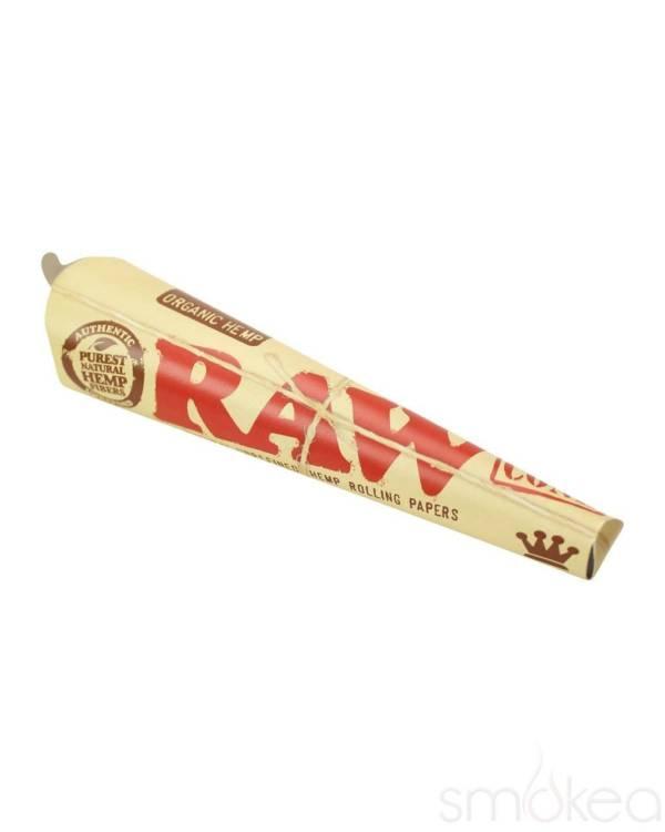 RAW Organic Hemp Kingsize Cones