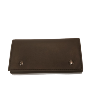 Roll Up Black Tobacco Bag