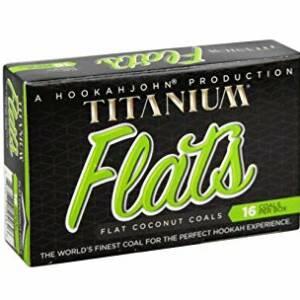 Titanium Flats Coconut Coals