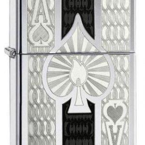 Intricate Spade Design