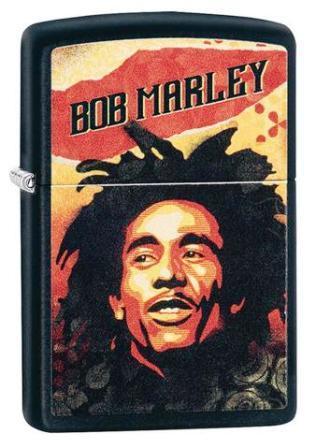 Zippo Bob Marley Black Matte
