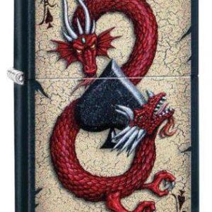 Zippo Dragon Ace Design