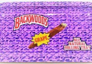 BACKWOODS GRAPE ROLLING TRAY