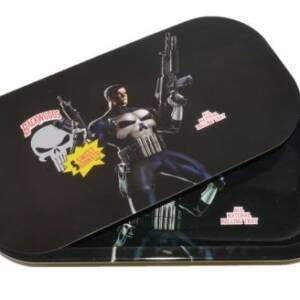 BACKWOODS THE PUNISHER ROLLING TRAY WITH COVER