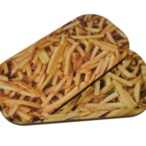French Fry Tray with Magnetic Lid
